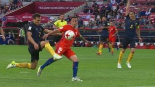 Chile vs. Australia   2017 FIFA Confederations Cup Highlights