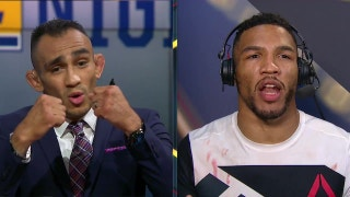 Kevin Lee verbally spars with Tony Ferguson after controversial win over Michael Chiesa | UFC FIGHT NIGHT