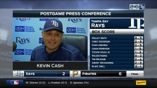 Kevin Cash: Snell was a little over amped