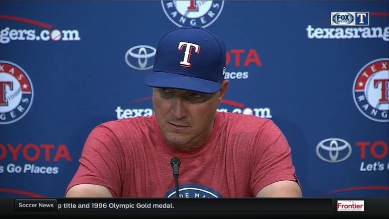 Jeff Banister on pitching in win over Toronto
