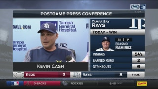 Kevin Cash: 'We got some timely hits'