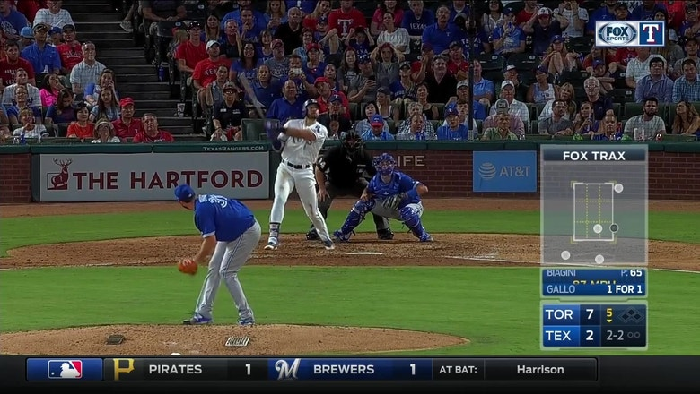 WATCH: Joey Gallo hits Inside the park home run vs. Blue Jays
