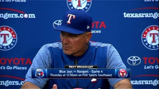 Jeff Banister on offense to nearly come back