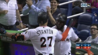 HIGHLIGHT: Giancarlo Stanton smacks solo home run