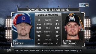 Marlins turn to Nicolino in game 3 of series vs. Cubs