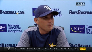 Kevin Cash on offensive output: 'Every one seemed to find a way to connect with the baseball'