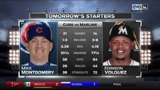 Marlins need win Sunday to split series vs. Cubs