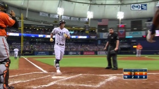 WATCH: Rays go back-to-back Saturday afternoon