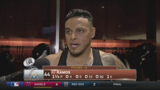 AJ Ramos: 'We're doing just enough to get wins'