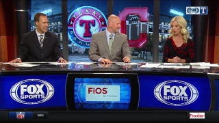 Elvis Andrus loves hitting in Cleveland | Rangers Live