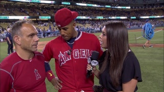 Escobar drives in two in 4-0 win to open Freeway Series