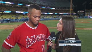 Maldonado's late homer gives the Angels some insurance against the Dodgers