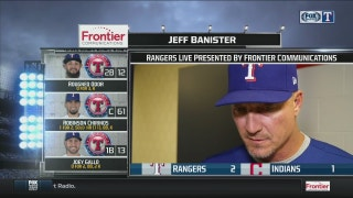 Banister talks bullpen in win over Cleveland