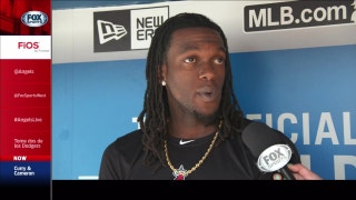 Maybin on stealing bases: 'When I get up there, guys get nervous'