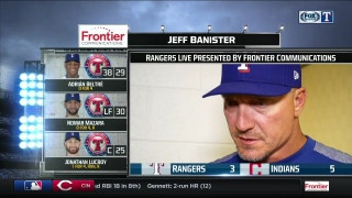 Jeff Banister talks tough 5-3 loss to Cleveland