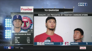 Yu Darvish on disappointing loss to Indians