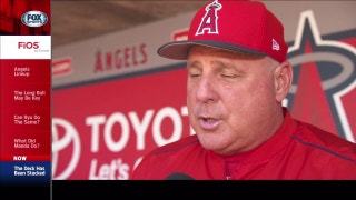 Mike Scioscia likes what he sees but needs the rotation to step up