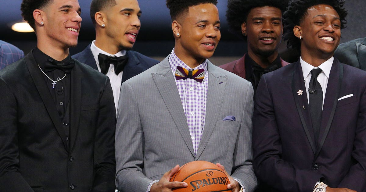 A record number of freshmen were selected in the first round of the NBA Draft