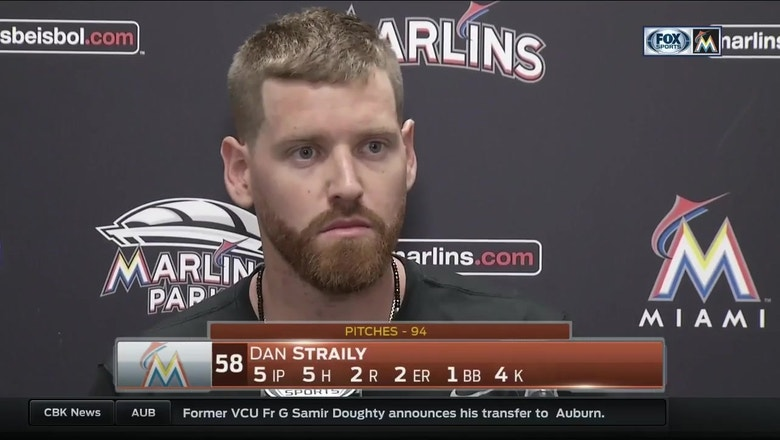 Dan Straily discusses start Tuesday night vs. Mets
