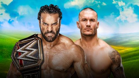 Jinder Mahal vs. Randy Orton for the WWE World Championship