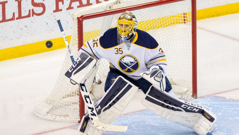 Buffalo Sabres: Club Announces the Signing of Linus Ullmark