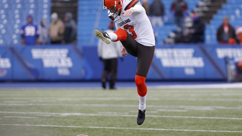 Cleveland Browns: Kicking competition still in early stages