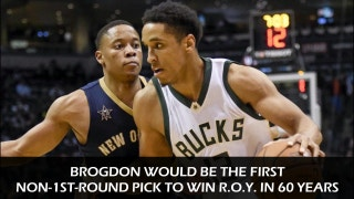 Brogdon could be historic Rookie of the Year winner