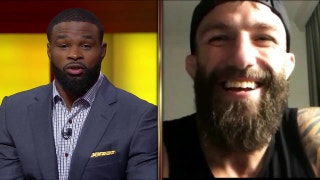 Michael Chiesa talks about his press conference fight with Kevin Lee | UFC TONIGHT