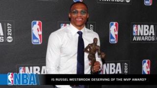Did Westbrook really earn the MVP?