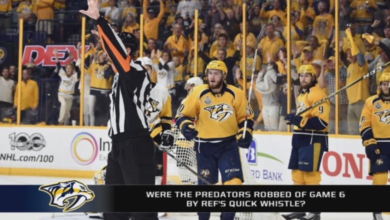 Did the referees rob the Predators of a Game 7?