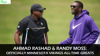 Digital Extra: A look back at the careers of Vikings' receivers Moss, Rashad