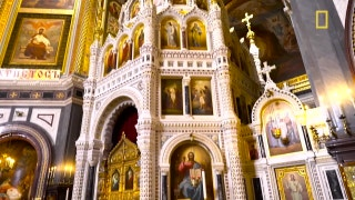 Inside Moscow's majestic Cathedral of Christ the Saviour