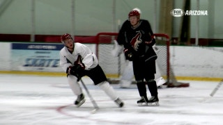 Coyotes prospects hit the ice for development camp