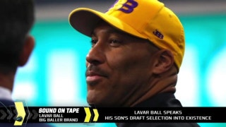 LaVar Ball speaks Lonzo's draft selection into existence