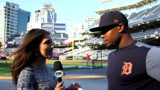 Michelle Mar-GOES 4 THE CYCLE with Justin Upton
