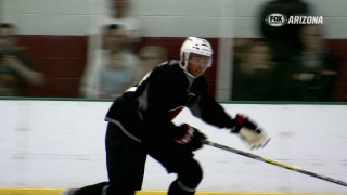 First-round pick Joseph takes the ice with Coyotes' prospects