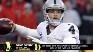 What's the first thing Derek Carr is going to do with his new contract money?