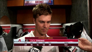 Zack Greinke: I was missing by a little bit