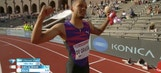 Watch: Andre De Grasse runs 9.69 for 100 meters…very wind aided