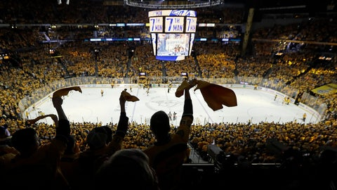 Preds Fall in Game Five, Pledge to Be Better Facing Elimination