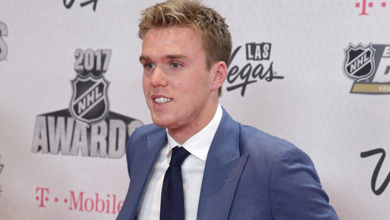 Connor McDavid wins Hart as MVP, and other results from the 2017 NHL Awards