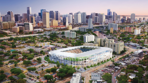Beckham acquires land to build football stadium in Miami