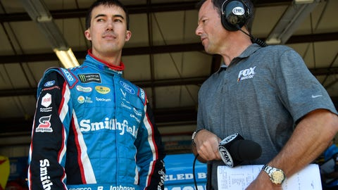 Larson wins pole at Sonoma