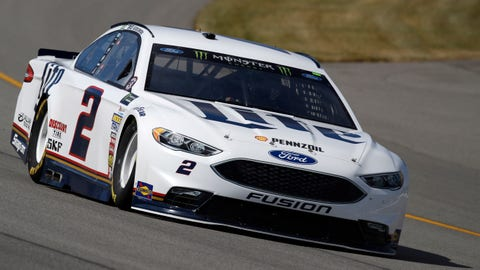 Kyle Larson tops opening Monster Energy Series practice at MI
