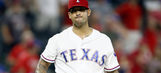 Bush unable to close out Blue Jays in Rangers' loss