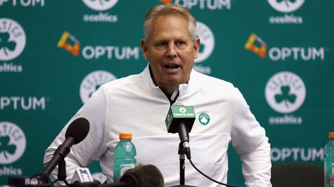 Danny Ainge's draft record over the years has been atrocious