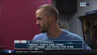 Chisenhall continues hot streak in win