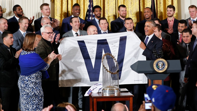 Chicago Cubs to make second White House visit on Wednesday