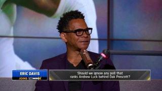 Eric Davis says Dak Prescott is not a top 10 QB in the NFL | THE HERD