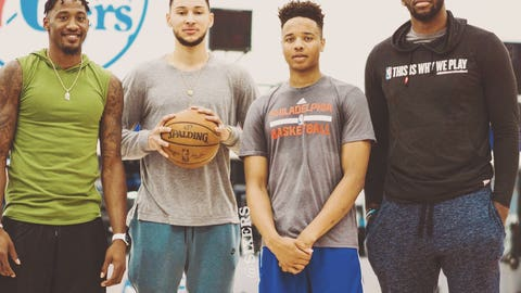 Fultz ends up becoming a star, and the Sixers become a huge problem in the East